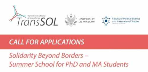 "Summer School ""Solidarity Beyond Borders"""