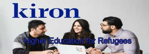Kiron Free Online Study Program for Refugees