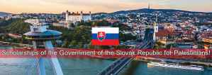 Scholarships to Study Abroad in the Slovak Republic for Palestinians