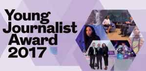 Thomson Foundation Young Journalists Award in UK, 2017