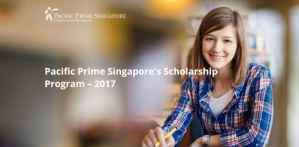Pacific Prime International Scholarship Program in Singapore