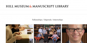 Hill Museum & Manuscript Library Heckman Stipends 2018, USA