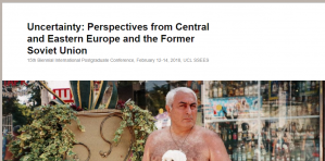 Conf/CfP - Uncertainty: Perspectives from Central and Eastern Europe and the Former Soviet Union, 12–14 February 2018, UK