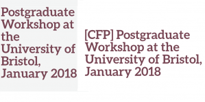 Workshop/CfP - Hong Kong History, 11-12 January 2018, UK