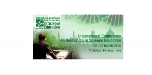Conf/CfP - New Perspectives in Science Education, 22 – 23 March 2018, Florence, Italy