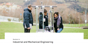 Bachelor in Industrial and Mechanical Engineering 2018, Free University of Bozen-Bolzano, Italy