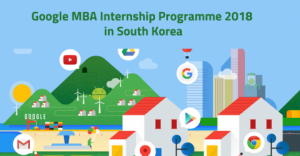 Google MBA Internship Programme 2018 in South Korea