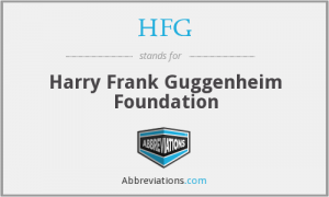 Harry Frank Guggenheim (HFG) Foundation