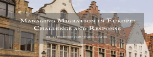 Autumn Course - Managing Migration in Europe: Challenge and Response, 24-26 September 2018, Bruges, Belgium