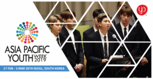 Asia Pacific Youth Week 2019 in South Korea