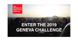 Geneva Challenge 2019 International Contest for Graduate Students - The Challenges of Global Health, Switzerland