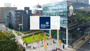 Scholarship partially funded by The University of Strathclyde UK