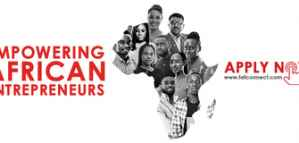 Training and Funding for African Entrepreneurs from The Tony Elumelu Foundation 2019