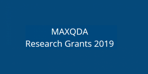 The MAXQDA #ResearchforChange Grant – Apply now