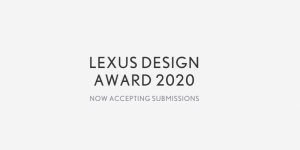 Concours de design Lexus 2020 «Design for a Better Tomorrow»