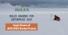 Rolex Awards for Enterprise 2021 (Cash Grant of 200,000 Swiss Francs)