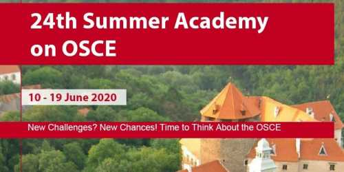 Summer Academy on OSCE in Austria