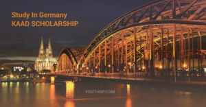 KAAD Scholarship-Eastern European Program in Germany 2020