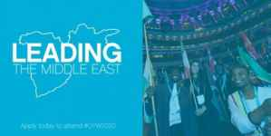 Leading The Middle East Scholarship to join One Young World 2020 in Germany