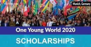 Scholarships for One Young World 2020 in Munich, Germany