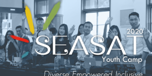 "2020 SEASAT Youth Camp ""Diverse. Empowered. Inclusive."""