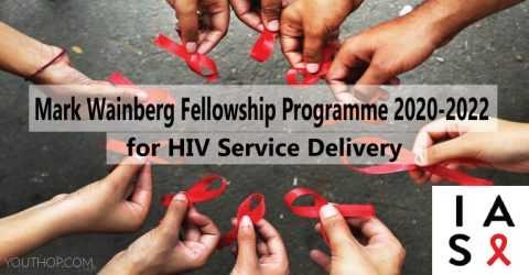 Mark Wainberg Fellowship Programme 2020-2022 for HIV Service Delivery (Fully Funded)