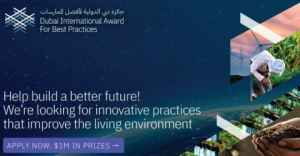 12th Dubai International Best Practices Award for Sustainable Development (US1M Prizes)