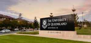 Scholarship for Doctor of Philosophy at Queensland University in Australia