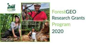 Call for Proposals: ForestGEO Research Grants Program 2020