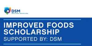 One Young World Improved Foods Scholarship: Supported By DSM