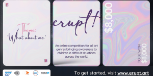 ERUPT! 2020 Social Change Art Competition