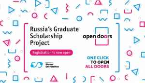 Russian Government Scholarship (Open Doors Project)
