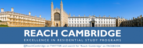 Reach Cambridge Summer Scholarship for Students 15-17 Years Old