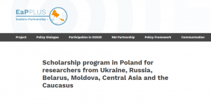 Warsaw University Scholarship Program 2018, Poland