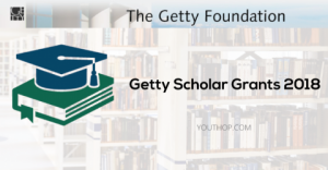 Subventions du Getty universitaire 2018