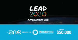 Défi One Young World Lead2030 (Financement de 50 000 $)