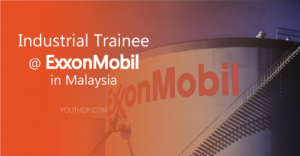 Engineering  Research Internship 2019 at ExxonMobil in Malaysia