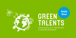Green Talents – International Forum for High Potentials in Sustainable Development