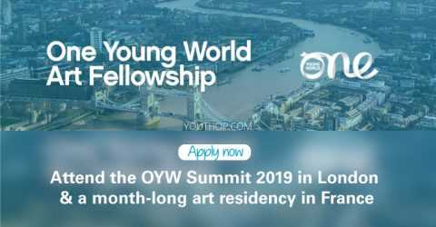 La bourse d'art OYW pour participer au One Young World Summit 2019 à Londres