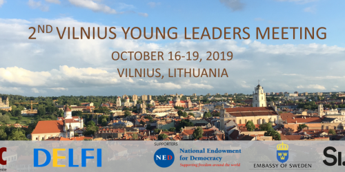 Call for Applications for the 2nd Vilnius Young Leaders Meeting