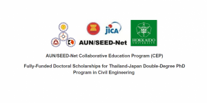 Fully-Funded Doctoral Scholarships in Civil Engineering for Thailand-Japan