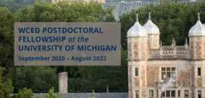Weiser Postdoctoral Fellowship at the University of Michigan in the USA
