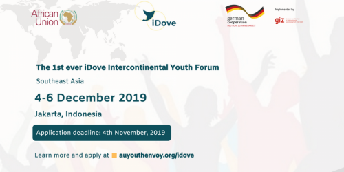 The 1st iDove Intercontinental Youth Forum in Southeast Asia