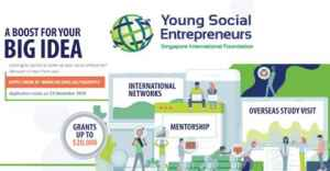 Young Social Entrepreneurs 2020 in Singapore