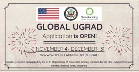 Global Undergraduate Exchange Program (Global UGRAD) 2020 in USA