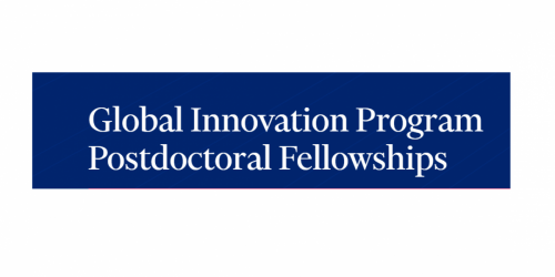 Global Innovation Program Postdoctoral Fellowships