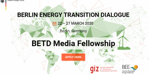 Berlin Energy Transition Dialogue Fellowship
