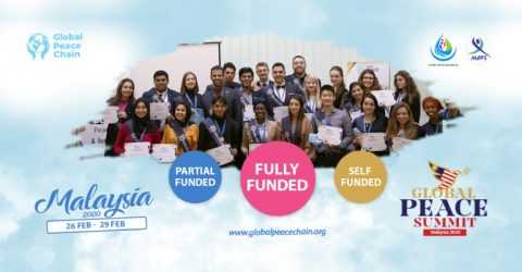 Global Peace Summit 2020 in Malaysia (Fully/Partial/Self Funded)
