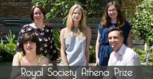 (Win Prize of £5,000) Royal Society Athena Prize 2020