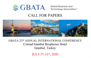 Istanbul, Turkey, 22nd Annual International Conference on the theme Growth and Sustainability in Global Markets: Theory, Evidence, and Practice